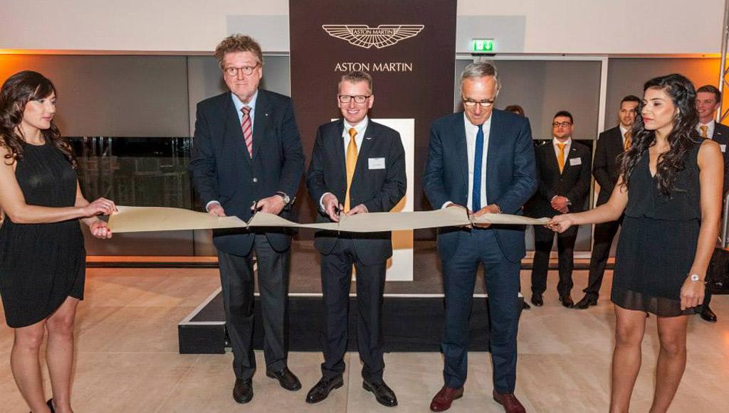Aston Martin Stuttgart Opening