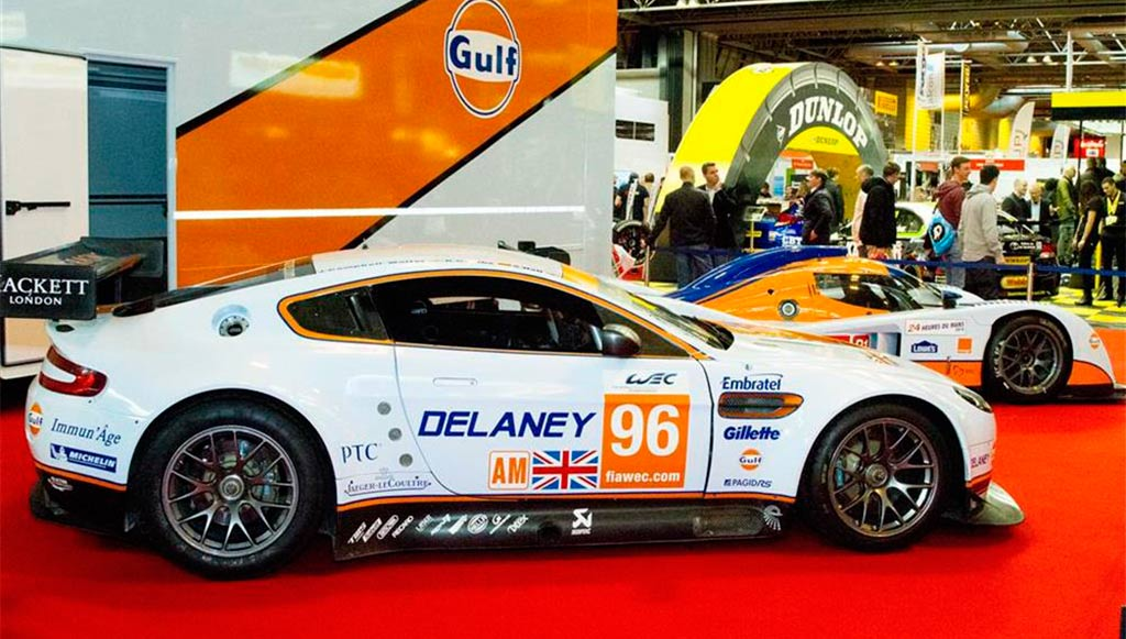 Autosport Motor Show. Aston Martin Was At The Autosport International Racing  Car ...