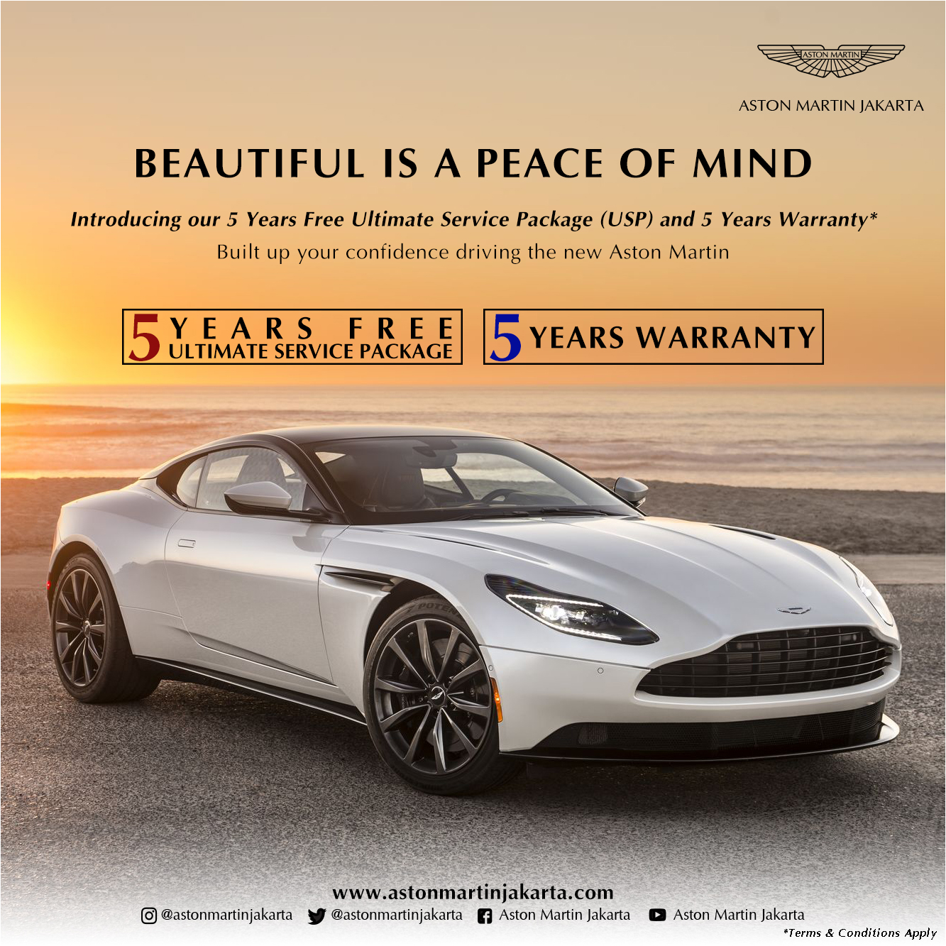 News Aston Martin Jakarta Official Aston Martin Dealer - Aston martin warranty