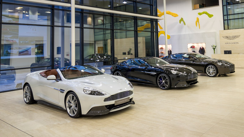 About Us Aston Martin Xi An Official Aston Martin Dealer