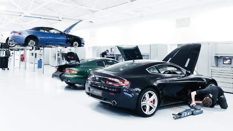 Servicing Aston Martin Seoul Official Aston Martin Dealer