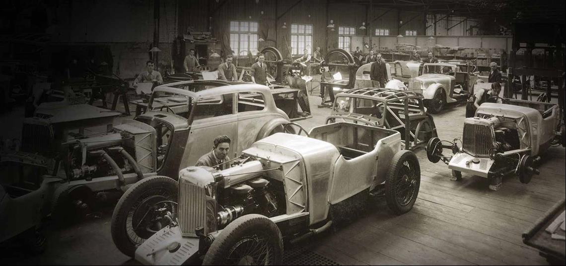 تاريخ الشركة من عام 1930 حتى عام 1939