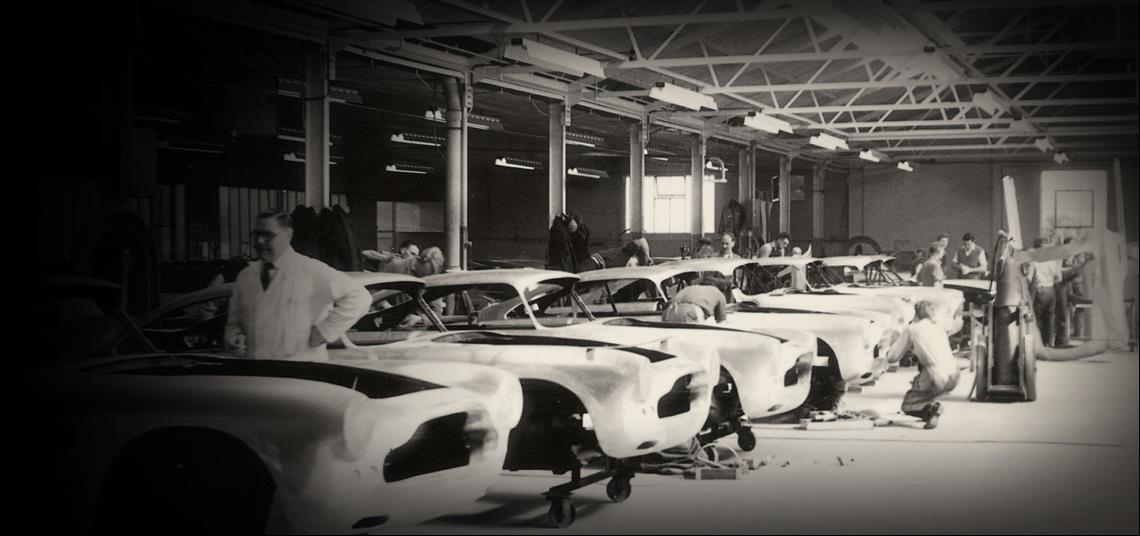 تاريخ الشركة من عام 1949 حتى عام 1958