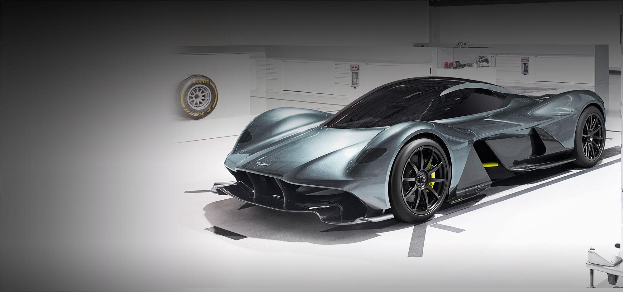 Superbe Aston Martin Valkyrie
