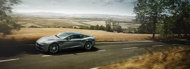 Aston Martin Vanquish The Most Beautiful Sports Car In Germany