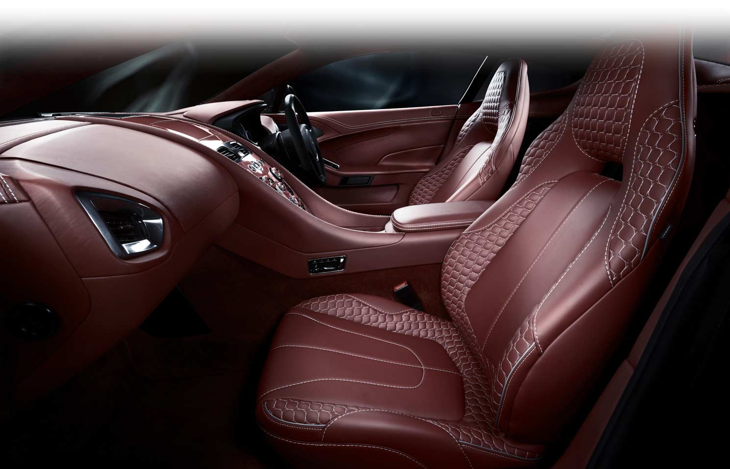 The New Vanquish - Luxury Interior