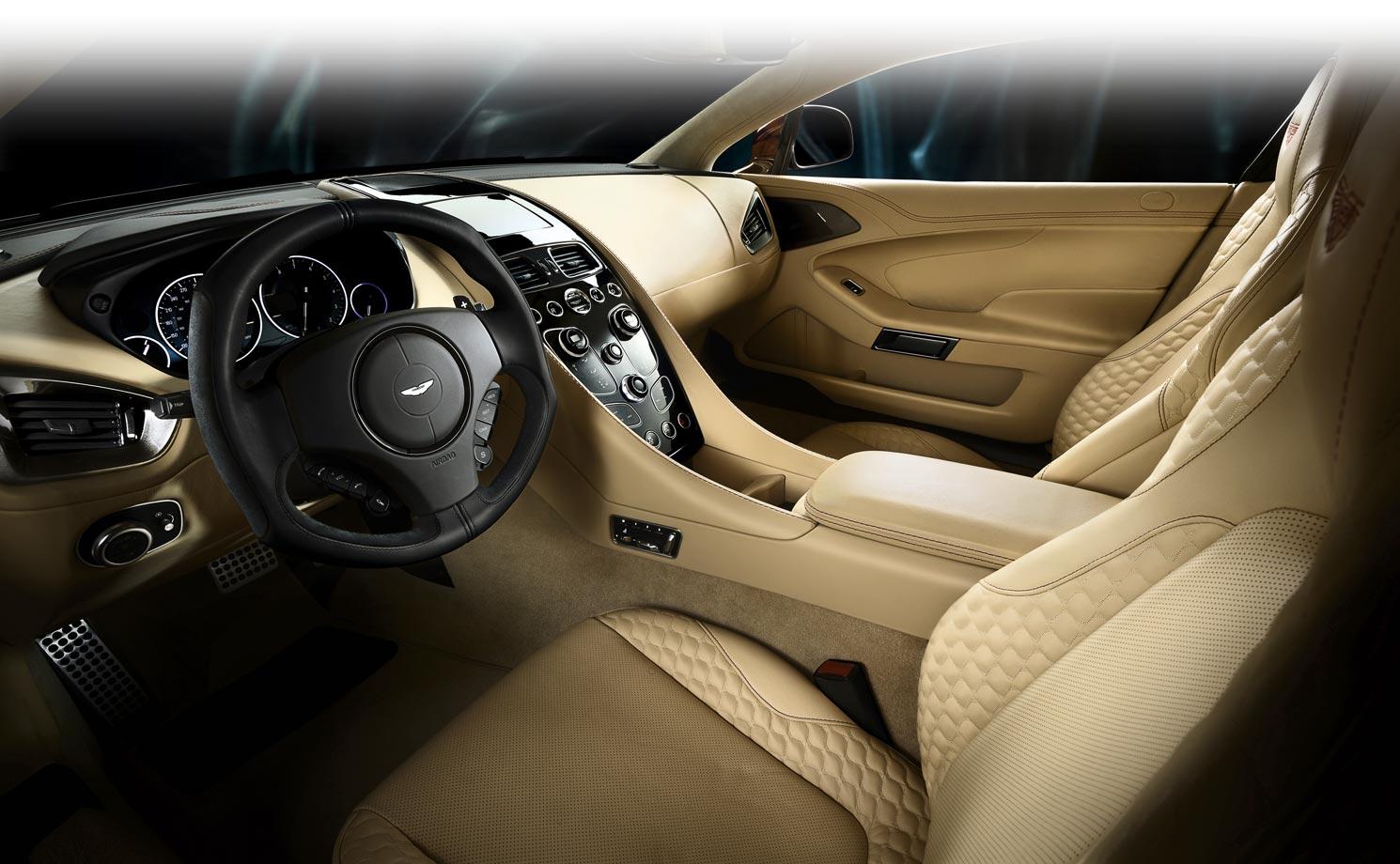 aston martin interior. we redefined luxury aston martin interior