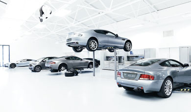 Aston Martin Ownership Servicing - Aston martin vantage maintenance