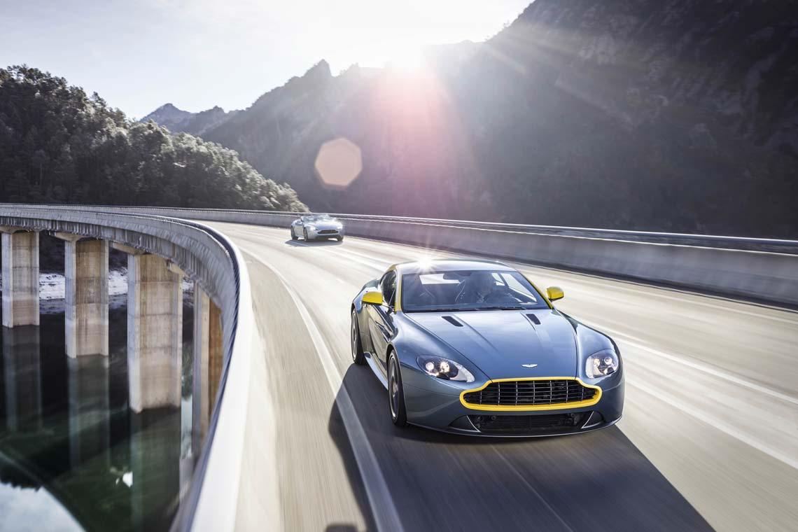 Aston martin vantage gt4 specifications