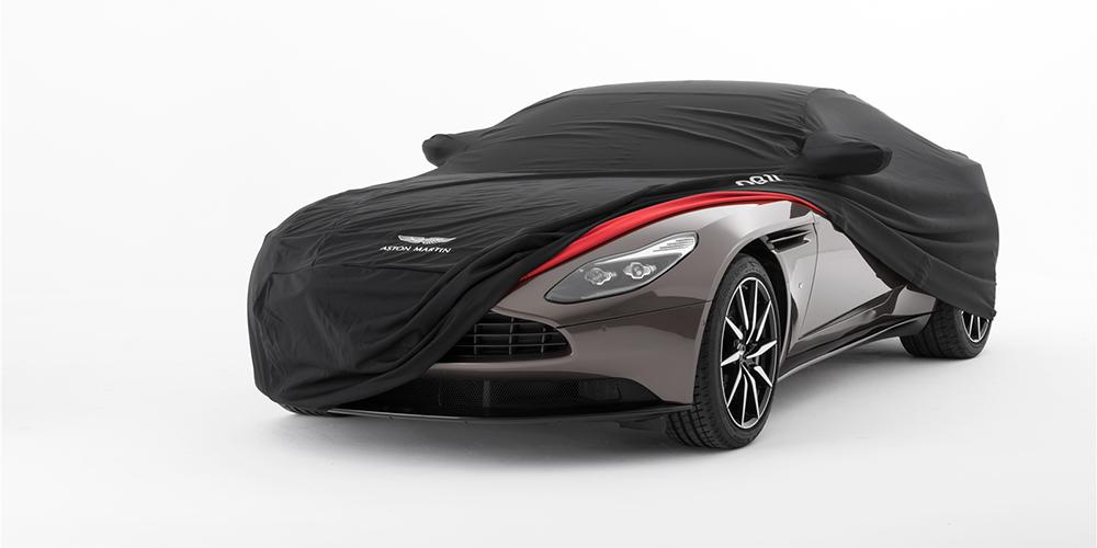 Premium Satin Stretch Indoor Tailored Car Cover for Aston Martin V8 Vantage