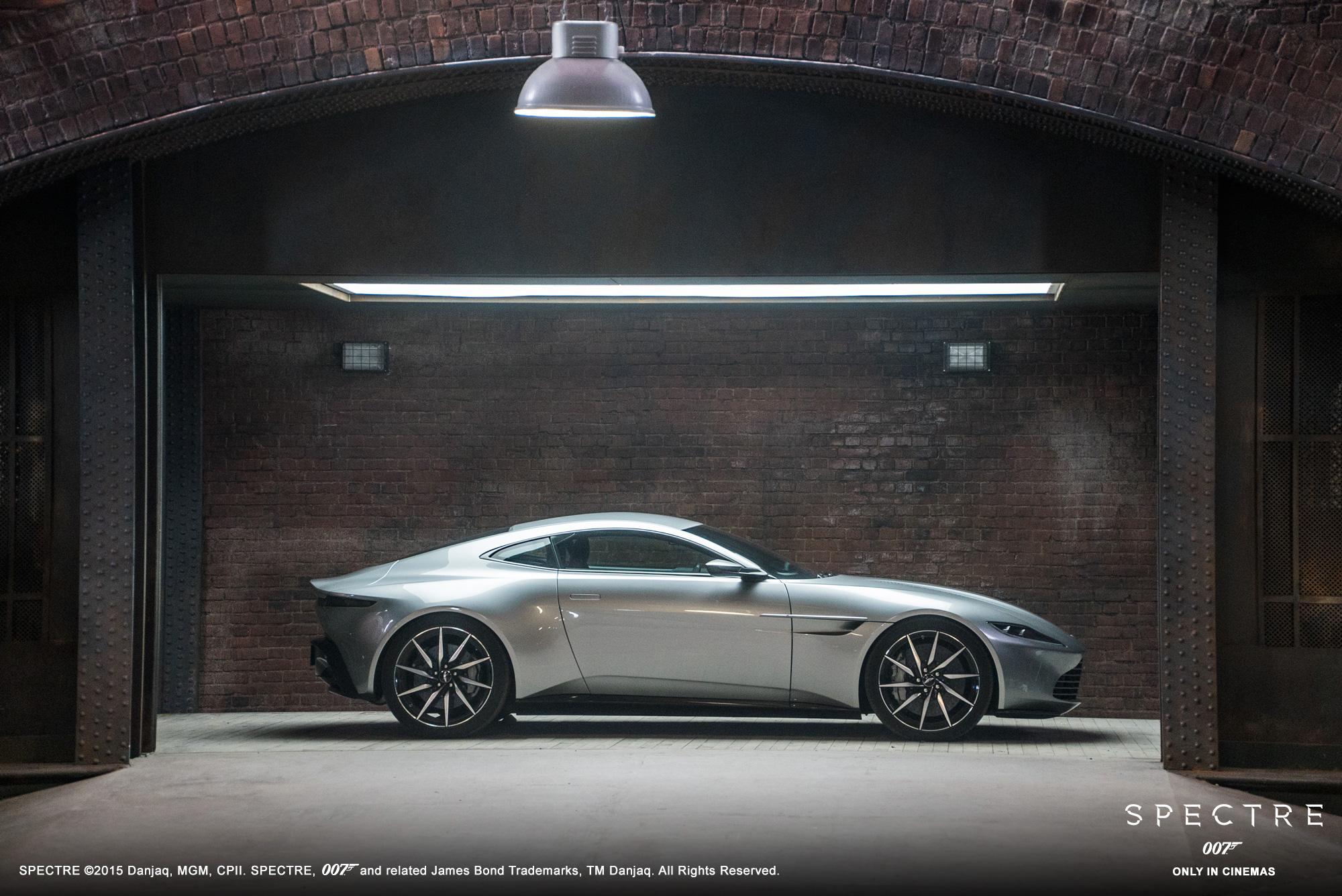 Aston Martin Db10 Built For Bond Spectre