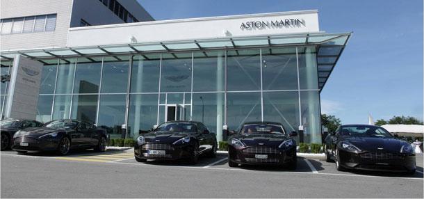Aston Martin Geneva Opens New Showroom
