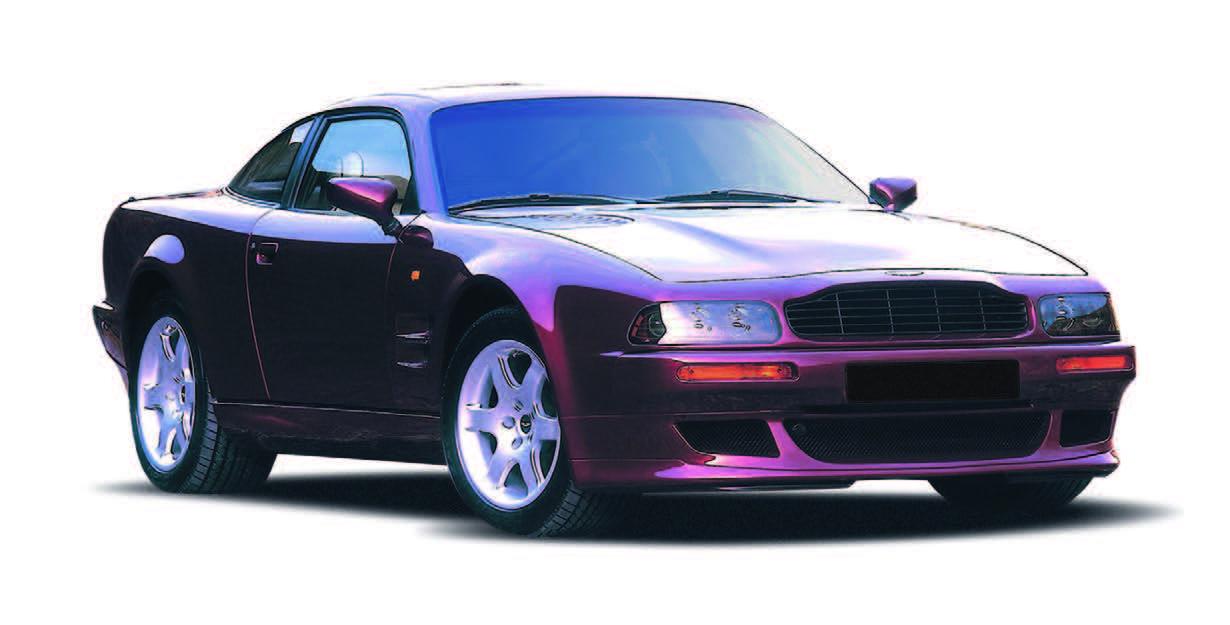 Attractive V8 Vantage U2014 1993   2000 U2014