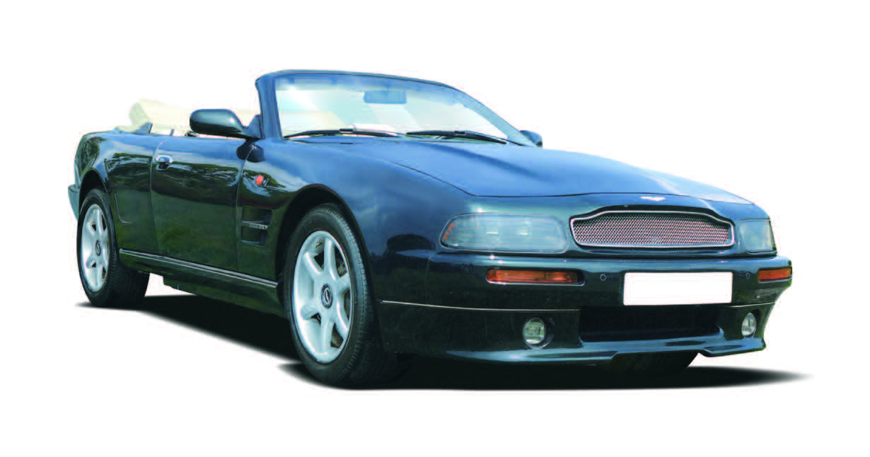 Aston Martin Heritage Past Models - 2000 aston martin