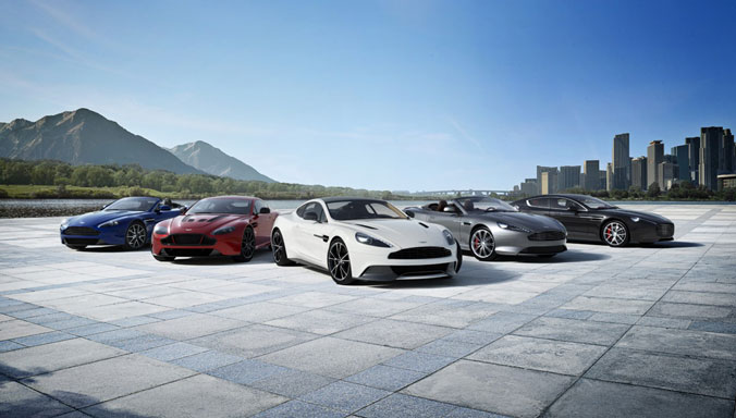 Aston Martin  The Official Website