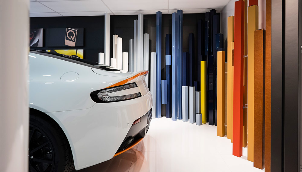 q by aston martin making the impossible possible