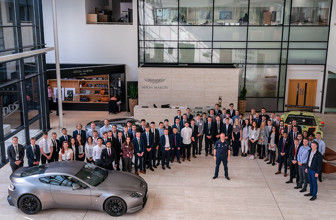 Biggest Ever Intake Of Fresh Talent Sets To Work At Aston Martin