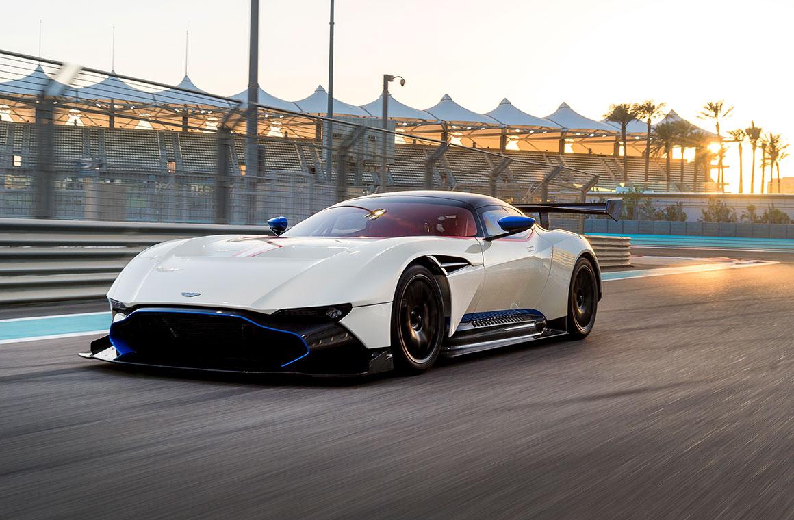 Aston Martin Racing Festival Race Makes Le Mans Return