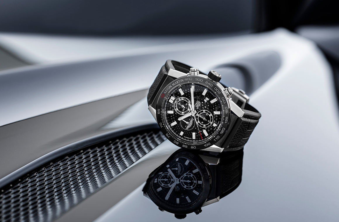 Tag Heuer Carrera Calibre Heuer 01 Aston Martin Special Edition Timepiece Goes On Global Release