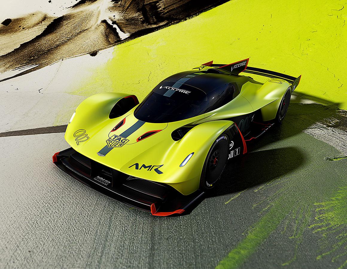 Aston Martin Valkyrie Amr Pro Makes World Debut At Geneva Show
