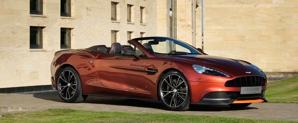Vanquish Volante - Q by Aston Martin