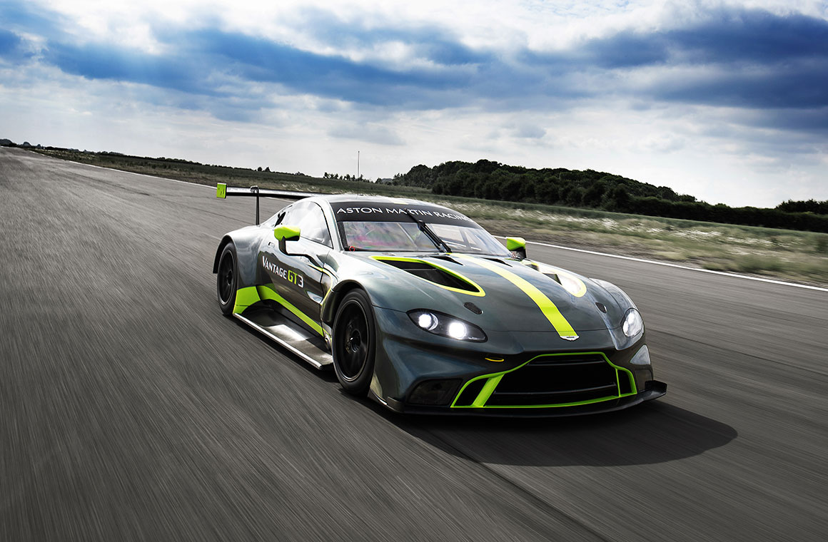 New Aston Martin Vantage Gt3 And Gt4 Make Public Debut At Le Mans