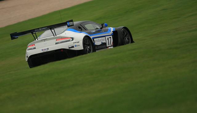 Aston Martins in British GT 2013 Kinfaun Racing