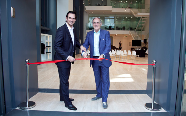Dr Ulrich Bez Opening the New Aston Martin Dubai Dealership