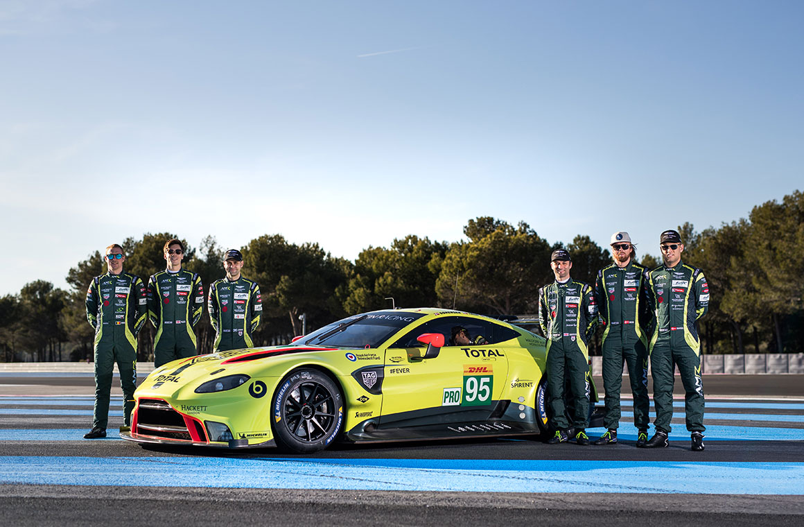 Time To Go Racing With The New Aston Martin Vantage Gte