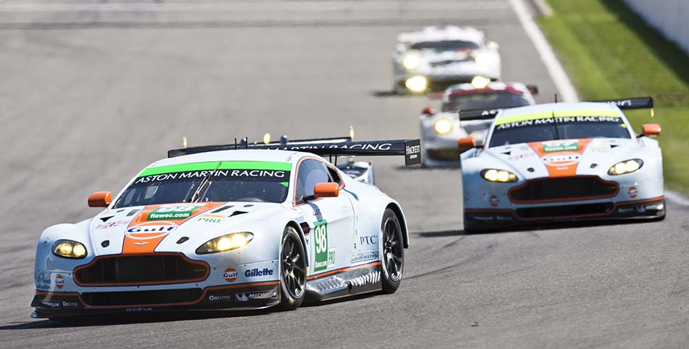 Aston Martin Racing - Round 2, Spa