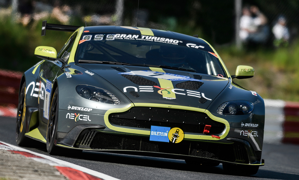 Aston Martin Vantage Gt8 Qualifies 2nd For Nurburgring 24 Hours