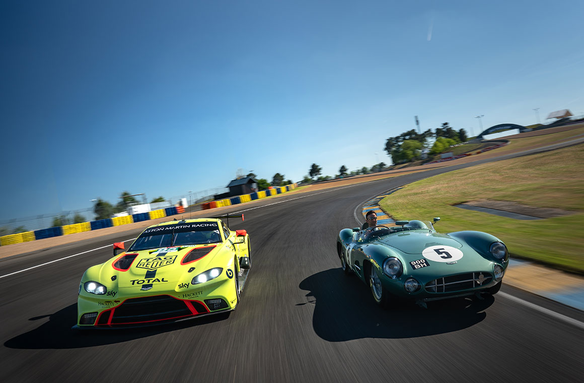 Aston Martin Ready To Race In The Spirit Of 59 As It Honours 60th Anniversary Le Mans Victory