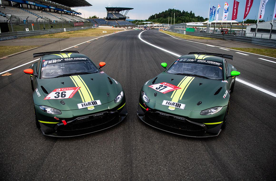 Aston Martin All Set For Vantage Gt4 Debut In Nürburgring 24h