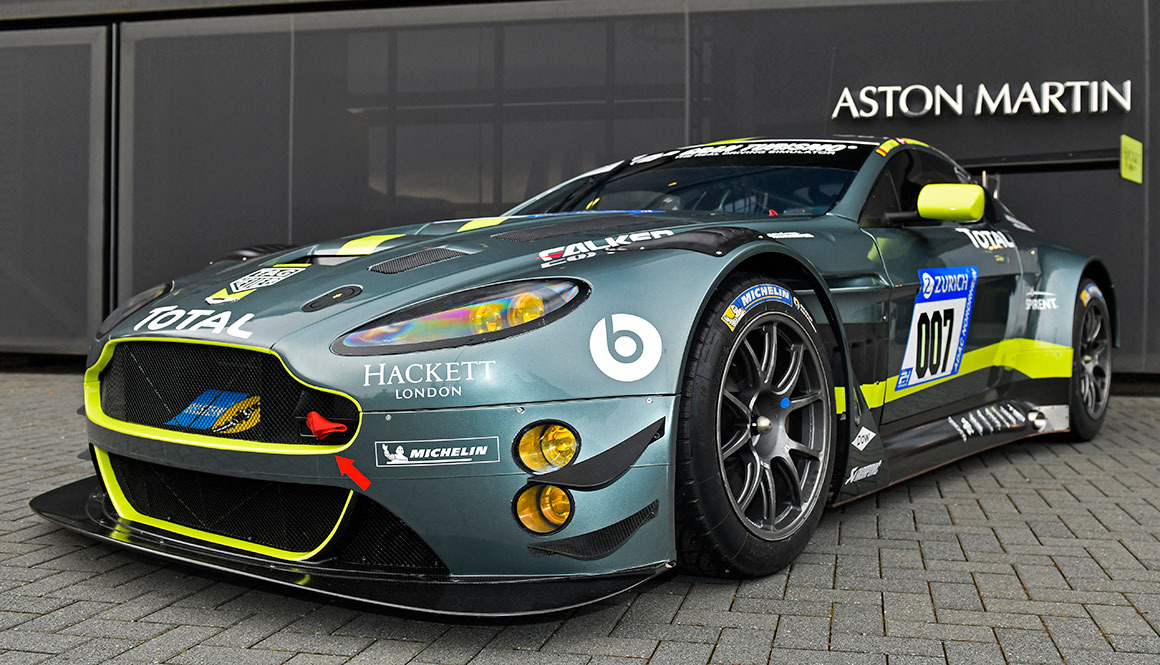 Aston Martin Confirms Two Car Entry For Adac Zurich 24 Hour Race