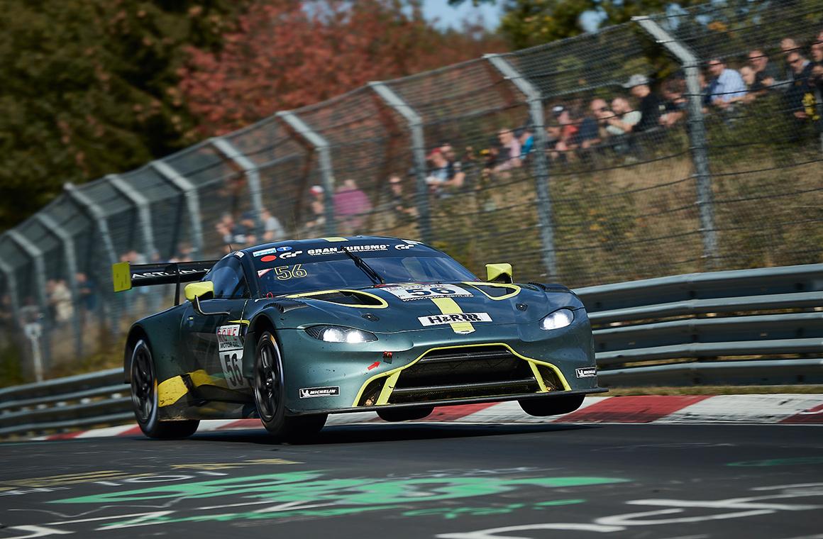 Aston Martin Vantage Gt3 Stars On Nürburgring Debut