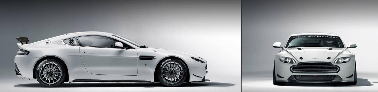 The Aston Martin Racing Vantage GT4