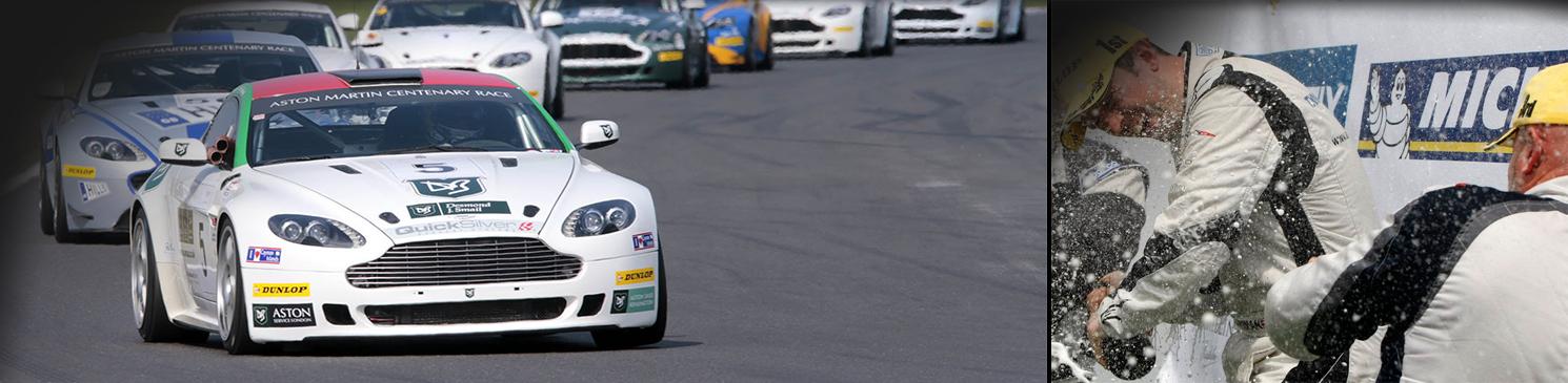 The Aston Martin GT4 Challenge