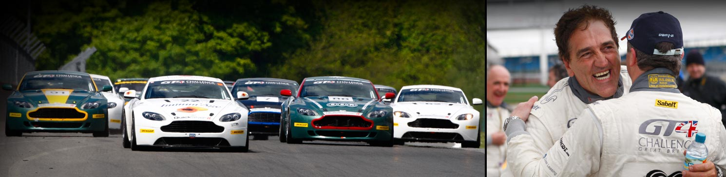 The Aston Martin GT4 Challenge