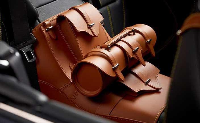 Leather Storage Saddle 2 2