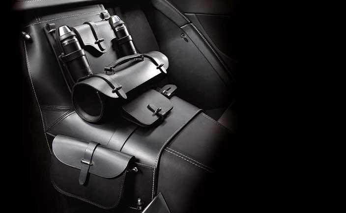 Leather Storage Saddle 2 0