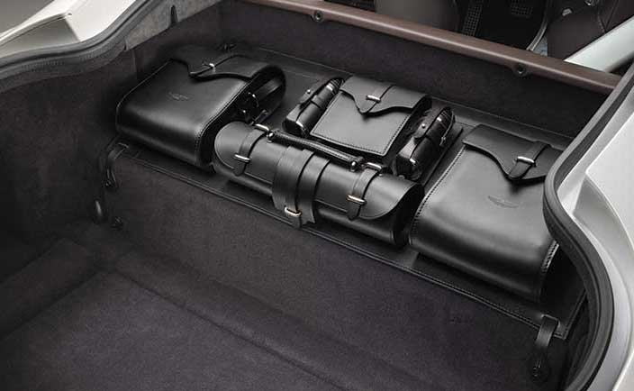 Leather Storage Saddle