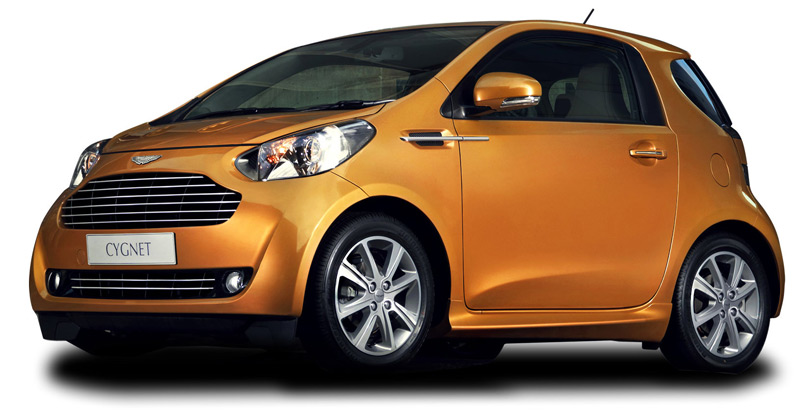 The Aston Martin Cygnet