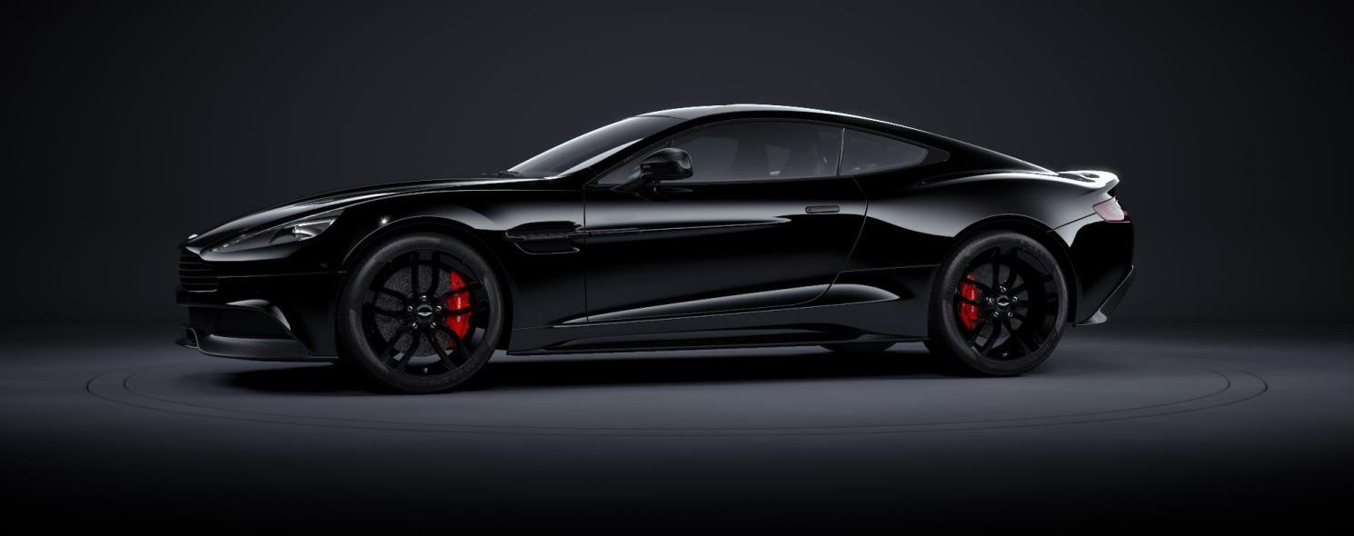 Aston Martin Vanquish Vanquish Carbon Edition - Black aston martin