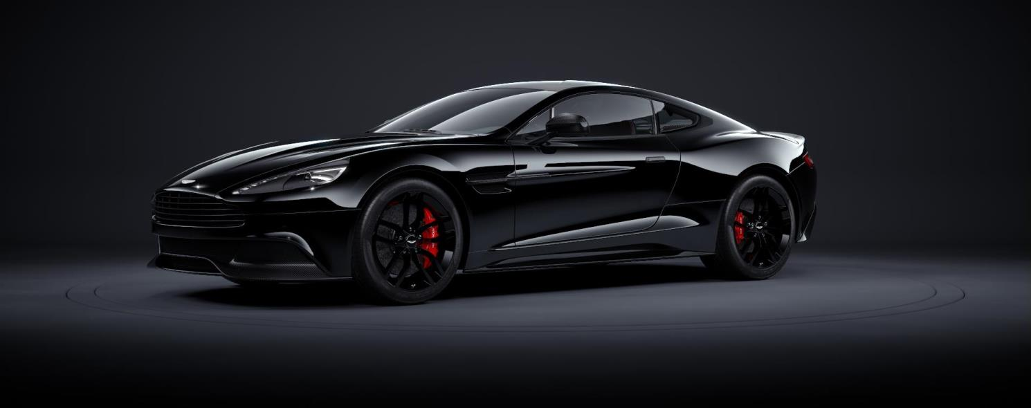 aston martin vanquish blacked out. vanquish aston martin blacked out