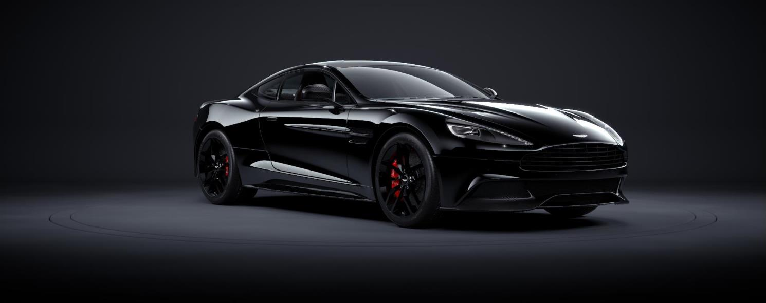 aston martin vanquish blacked out. vanquish aston martin blacked out n