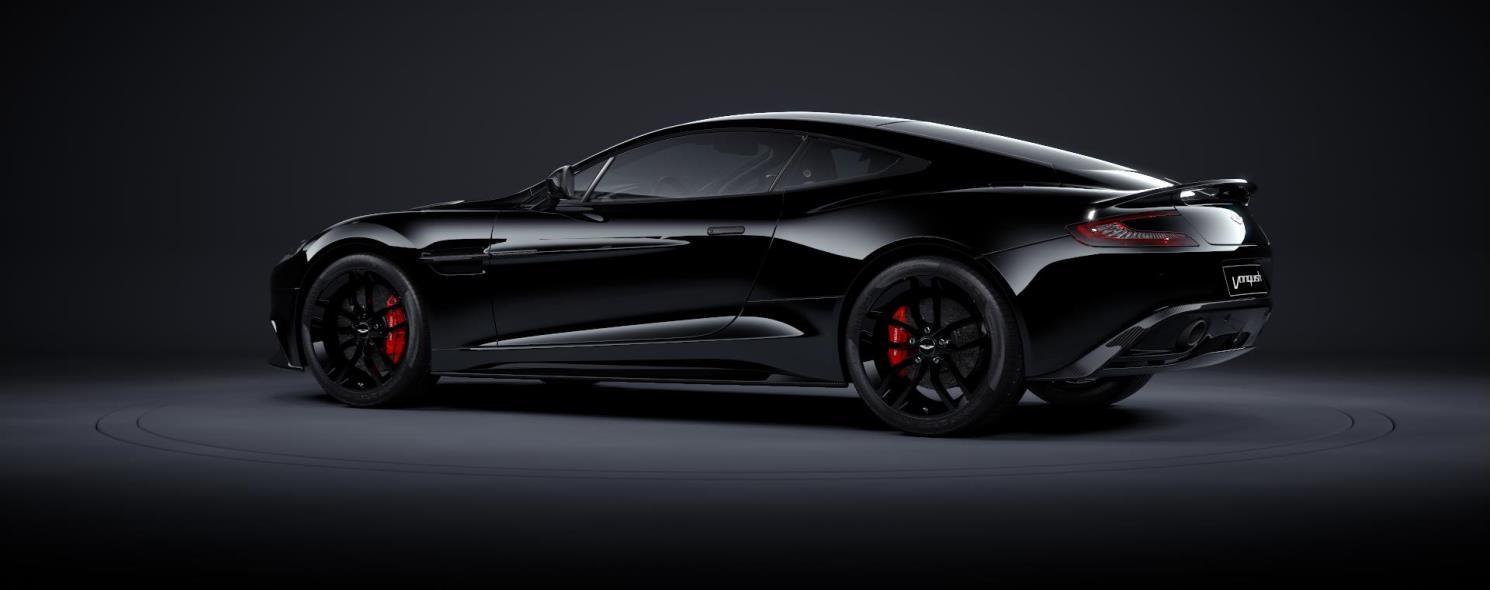 Aston Martin Vanquish Vanquish Carbon Edition - Black aston martin vanquish